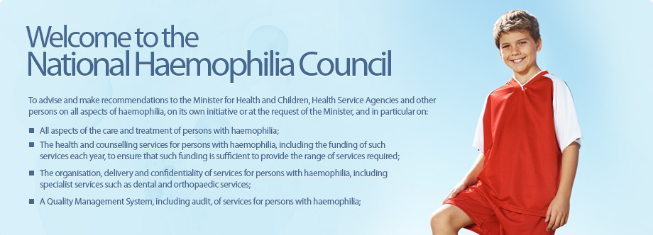 Welcome to the National Haemophilia Council